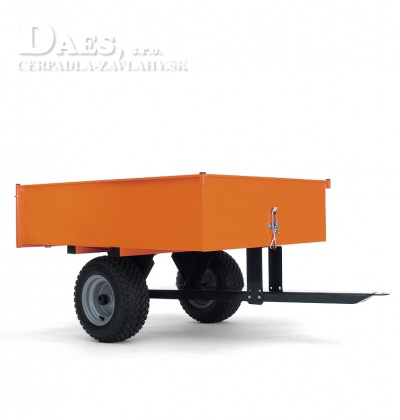 Vozík profirobustný sklopný vozík. sklápacia zadná stena